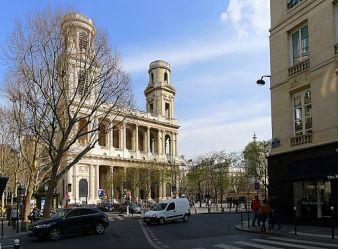 Eglise Place Saint Sulpice, Paris. Par Mbzt CC BY 3.0